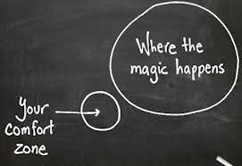 Lifecoaching out of comfortzone